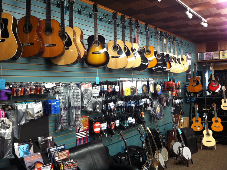 The Symphony Music Shop | Musical equipment, guitars, banjos