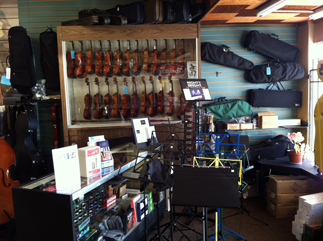 Band & orchestral instrument rental programs in southeastern MA at The Symphony Music Shop